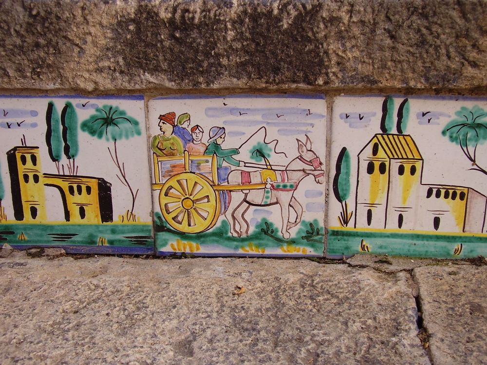 Experience Sicily | Sicilian Cart | Tiles from Caltagirone